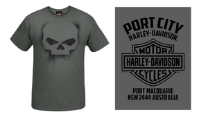 Port City Willie G Overspray T-Shirt (NEW)