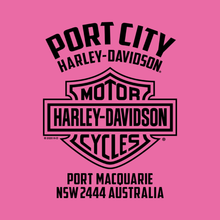 Load image into Gallery viewer, Port City Harley-Davidson® Star Gazer Youth Pink T-Shirt (COMING SOON)