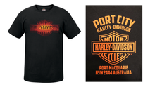 Load image into Gallery viewer, Port City Back Lit T-Shirt (NEW)