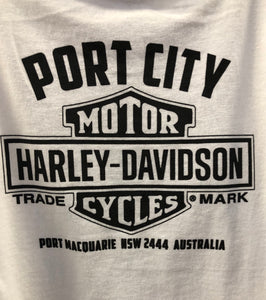Port City Harley-Davidson® Girls Love Sparkles Toddler T-Shirt