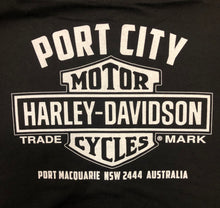 Load image into Gallery viewer, Port City Harley-Davidson Blank Bar & Shield Crew Neck Fleece