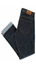 Load image into Gallery viewer, Resurgence Men's Warrior Pekev Lite Straight Leg Jean (CE 1) - Blue/Black