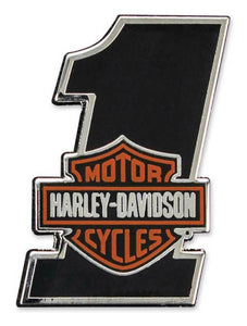 Harley-Davidson®  #1 Bar & Shield Pin