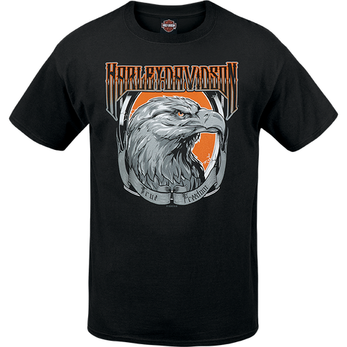 Port City Harley Davidson Eagle Portrait T-Shirt - R00377