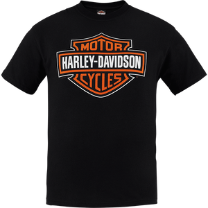 Port City Harley Davidson  Bar & Shield SL Harley-Davidson T-shirt - Black  Classic Fit