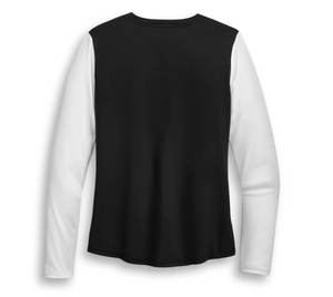 Harley-Davidson® Women's Performance Colourblock Long Sleeve T-Shirt