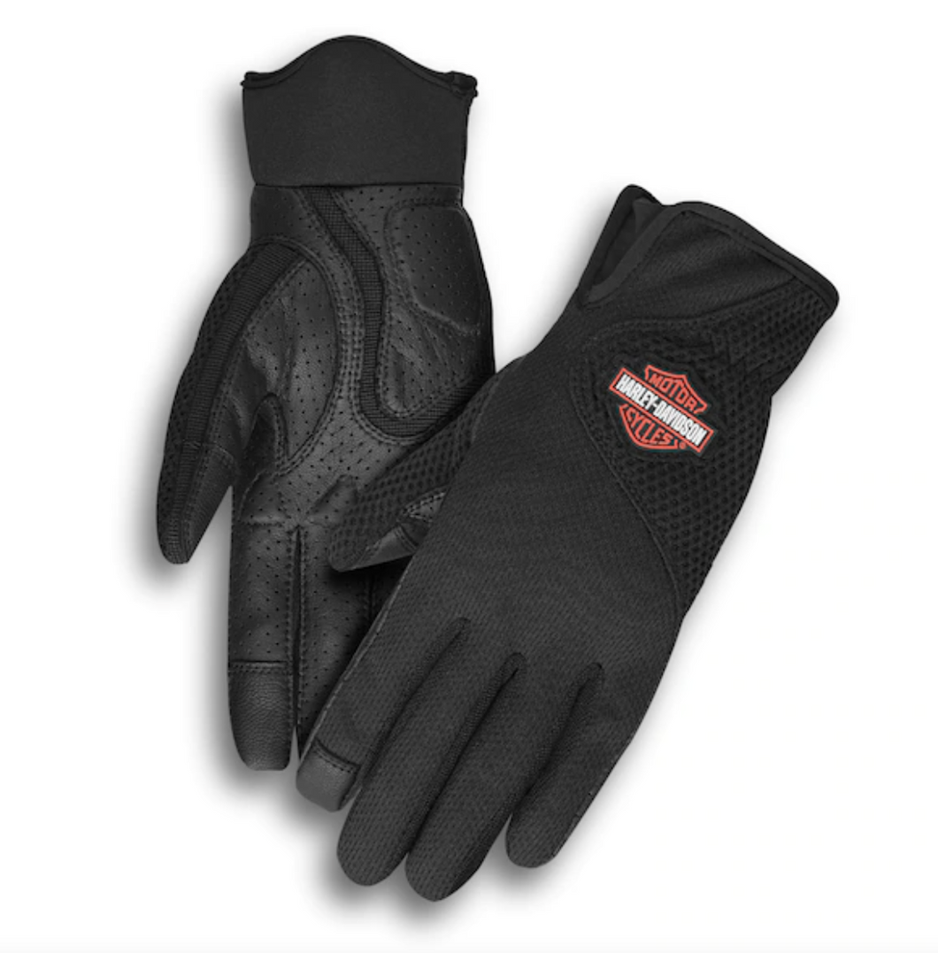 Harley-Davidson® Women's Odessa Mesh Summer Gloves - 98330-19VW.