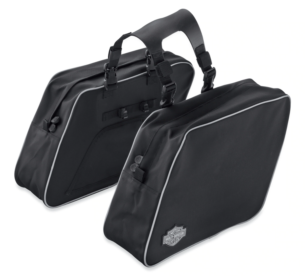 Harley-Davidson® Throw-Over Saddlebags - 90200906 - STREET 500 XG500