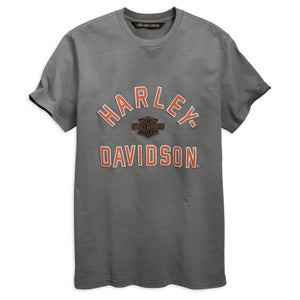 Harley-Davidson® Men's Felt Letter Slim Fit T-Shirt