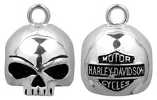 Load image into Gallery viewer, Harley-Davidson® Round Willie G Skull Ride Bell HRB020