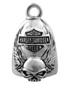Harley-Davidson® Winged Skull Bar & Shield Ride Bell HRB038