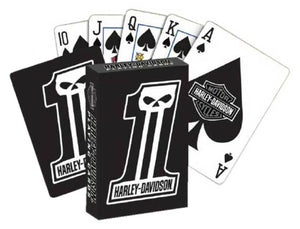 Harley-Davidson® Dark Custom Playing Cards, D611.