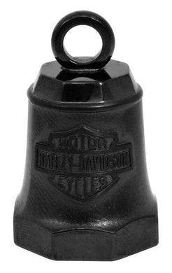 Harley-Davidson® Sculpted H-DMC Logo Ride Bell, Matte Black Finish HRB093