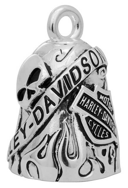 Harley-Davidson® 'Class Of It's Own' Skull/Bar & Shield Ride Bell HRB044