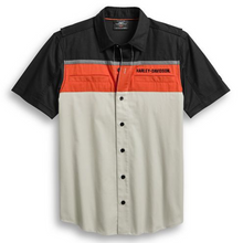Load image into Gallery viewer, Harley-Davidson® Men's Performance Vented Colourblock Shirt