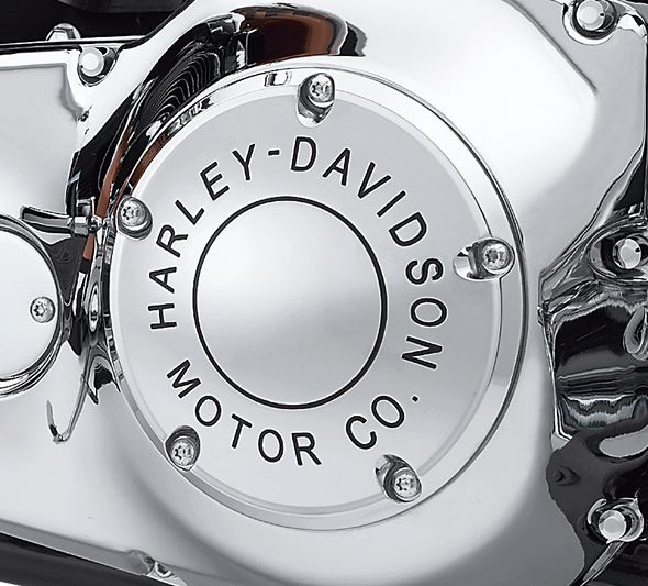 Harley-Davidson® Motor Co. Derby Cover - Chrome- 25338-99B