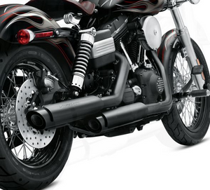 Harley-Davidson® Screamin' Eagle® Street Performance Slip-on Shorty Dual Mufflers - 80794-10A