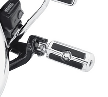Load image into Gallery viewer, Harley-Davidson® Willie G Skull Rider Footpegs - Chrome - 50500856