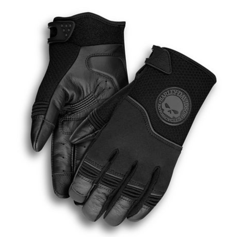 Harley-Davidson® Men's Newhall Mixed Media Gloves - 99091-14VM