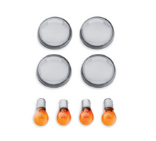 Load image into Gallery viewer, Harley-Davidson® Smoked Turn Signal Lens Kit - 69304-02