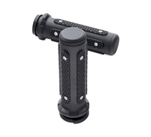 Load image into Gallery viewer, Harley-Davidson® Endgame Hand Grips - Black - 56100394