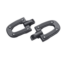 Load image into Gallery viewer, Harley-Davidson® Endgame Passenger Footpegs - Black - 50501644 -Softail