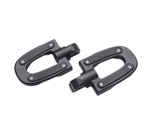 Harley-Davidson® Endgame Passenger Footpegs - Black - 50501644 -Softail