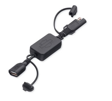 Harley-Davidson® SAE 2-Pin to USB Adapter-  69201149