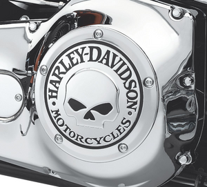 Harley-Davidson® Willie G Skull Derby Cover - 25441-04A