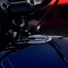 Load image into Gallery viewer, Harley-Davidson® Flush-Mount Fuel Cap- Chrome - 61100133 - Softail