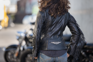 Harley-Davidson® Women's Boone Fringed Leather Jacket