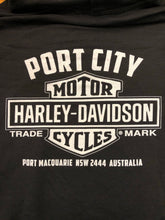 Load image into Gallery viewer, Port City Harley-Davidson Blank Bar & Shield Fleece Hoodie