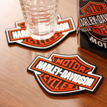 Load image into Gallery viewer, Harley-Davidson® Bar & Shield Rubber Coaster Set of 4