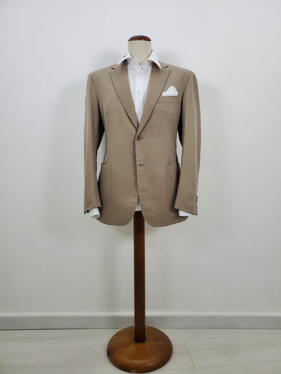 handmade high quality tailored men suit, cotton, finest italian quality