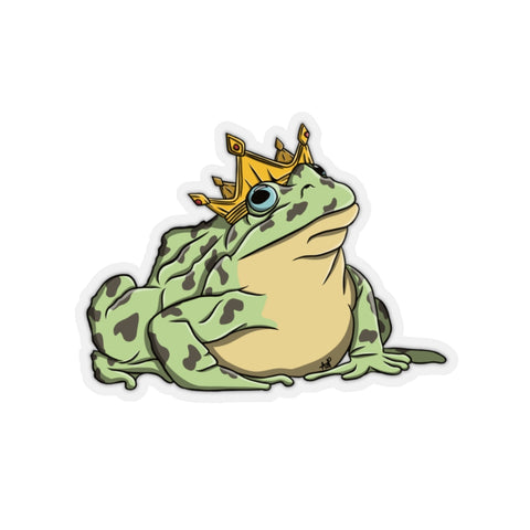 Frog Prince Kiss-Cut Stickers