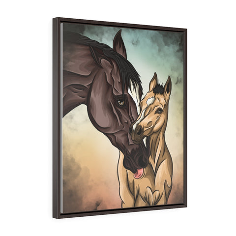 First Born Framed Premium Gallery Wrap Canvas