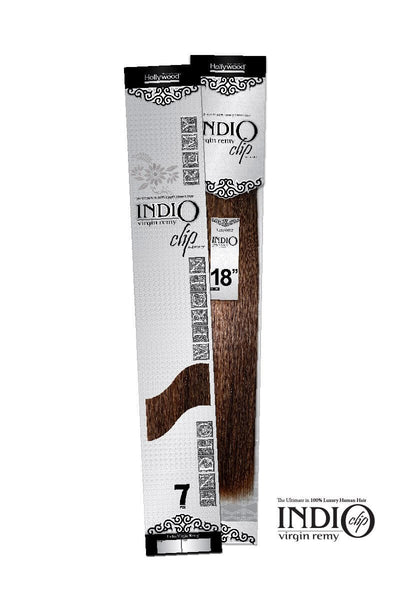 Indio 7PC Clip In Extensions 18""