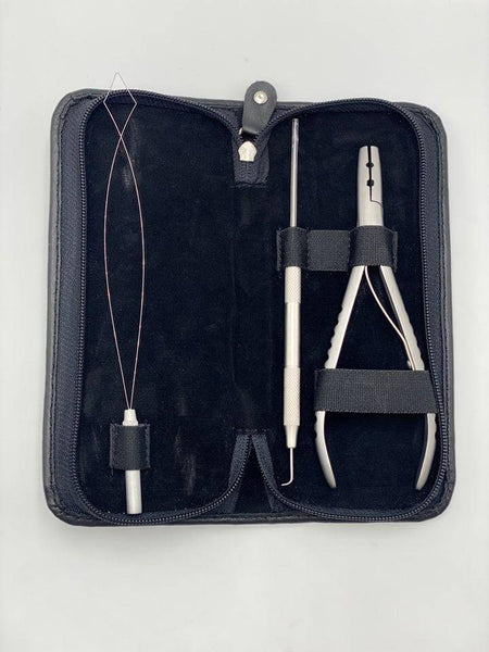 Professional Hair Extension Plier & Needle Set