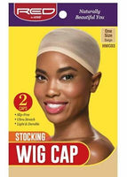 Red by Kiss Stocking Wig Cap