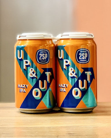 2SP Brewing Company Up & Out - 6 Pack, 12oz Cans - #neighbors_wine_shop#