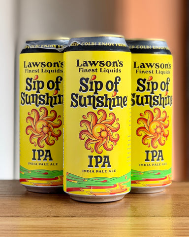 Lawson's Finest Sip of Sunshine IPA - 4 Pack, 16 oz Cans