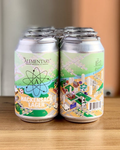 Alementary Brewing Hackensack Lager - 6 Pack, 12 Oz Cans - #neighbors_wine_shop#