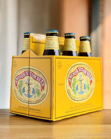 Anchor Steam - 6 Pack, 12oz Bottles - #neighbors_wine_shop#
