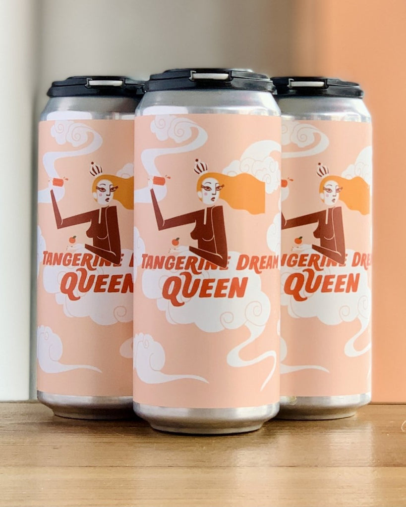 Brix City Tangerine Dream Queen DIPA - 4 Pack, 16oz Cans - #neighbors_wine_shop#