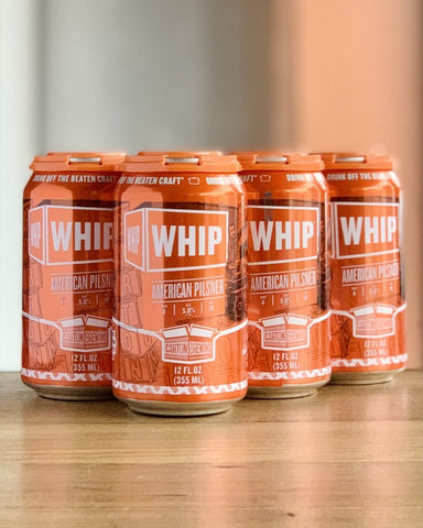 Carton Brewing Whip American Pilsner - 6 Pack, 12oz Cans - #neighbors_wine_shop#