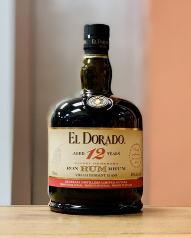 El Dorado Rum, 12 Year Old Finest Demerara Rum - #neighbors_wine_shop#