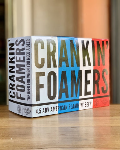 Fair State Brewing Coop Crankin' Foamers Corn Lager - 12 Pack, 12oz Cans - #neighbors_wine_shop#