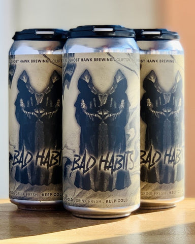 Ghost Hawk Bad Habits Belgian Dubbel - 4 Pack, 16oz Cans - #neighbors_wine_shop#