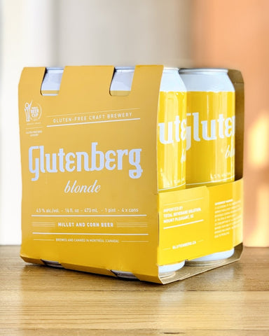 Glutenburg Blonde Ale - 4 Pack, 16oz Cans - #neighbors_wine_shop#