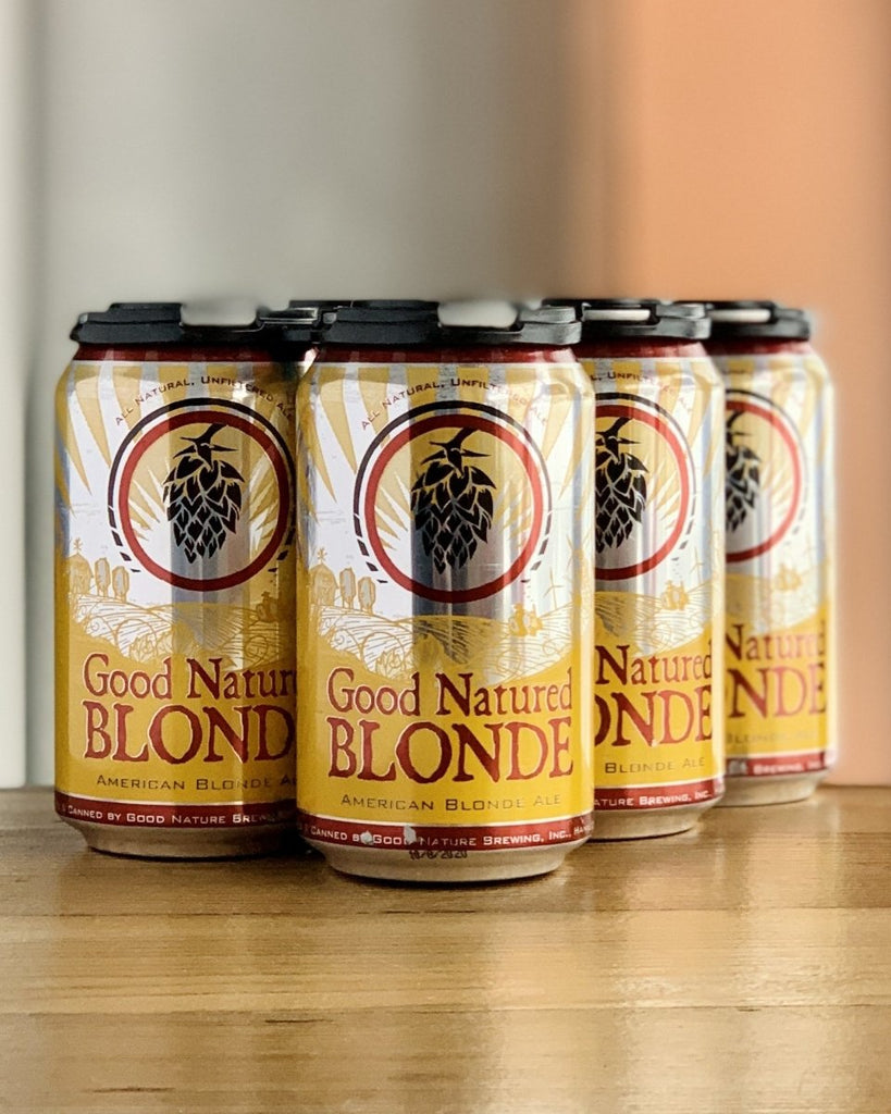 Good Nature Farm Brewing Good Natured Blonde - 6 Pack, 12oz Cans - #neighbors_wine_shop#